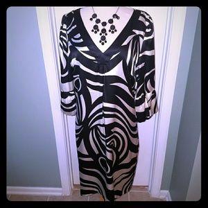 INC International concept *100% silk dress-Size 14